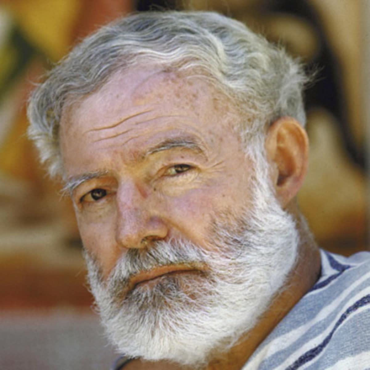 The Giant Thinker, Hemingway.