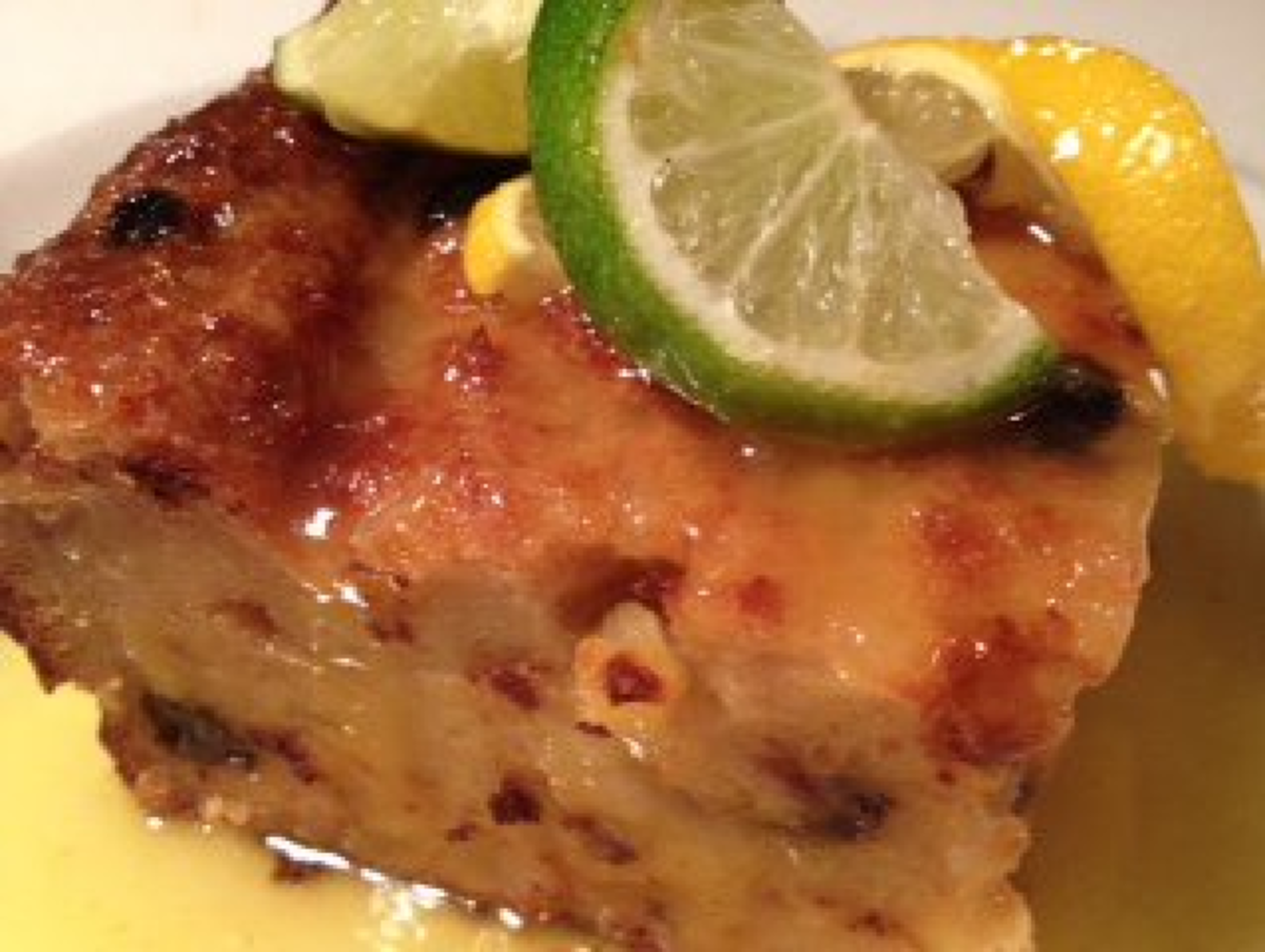 Tequila Bread Pudding