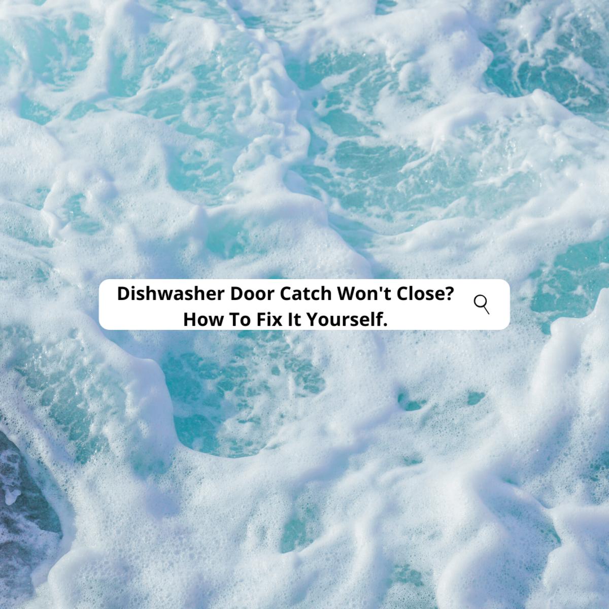 hotpoint-aquarius-dishwasher-door-catch-repair