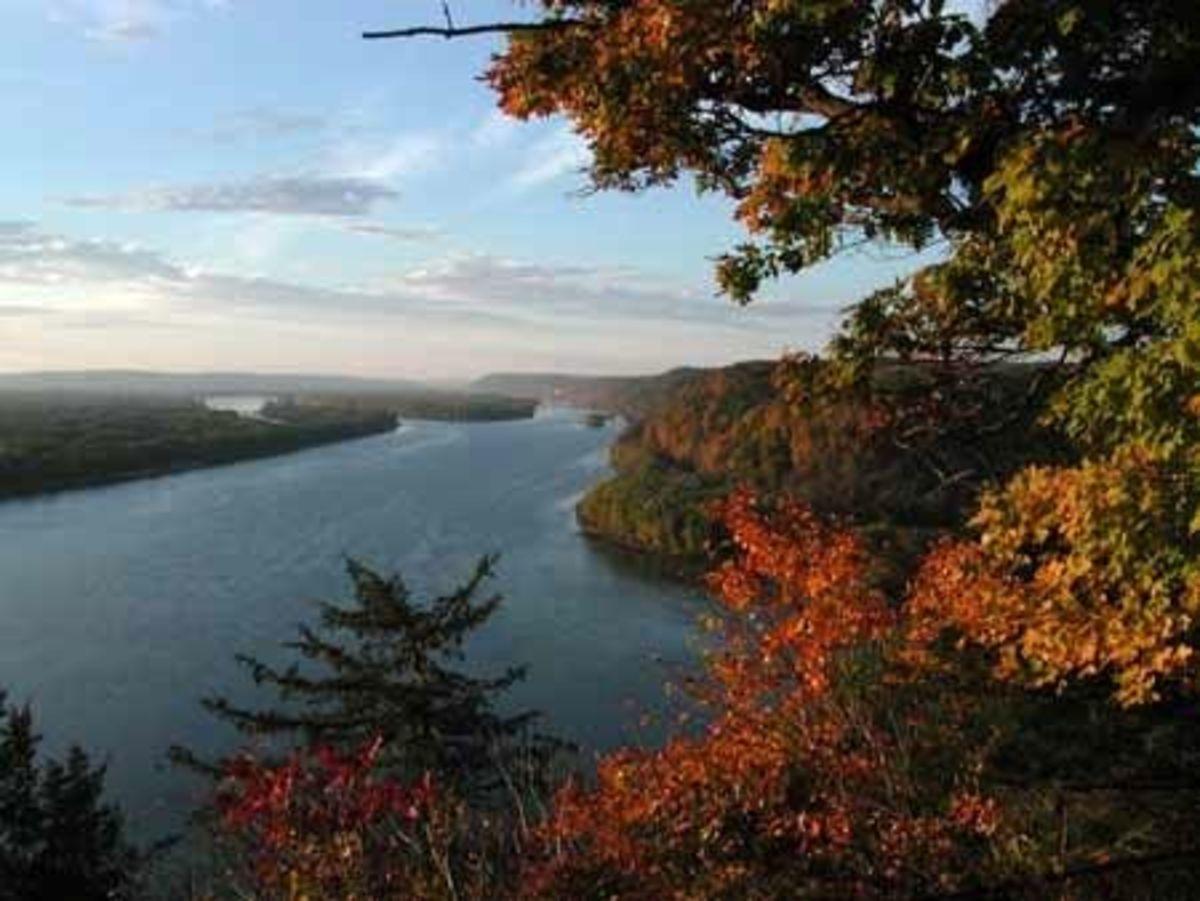Mississippi River near Harper's Ferry, Iowa