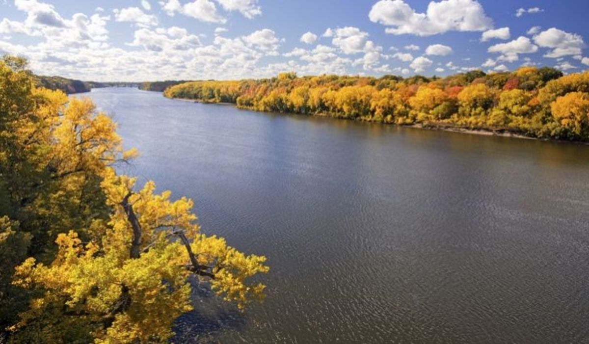 The Mississippi River in Minnesota