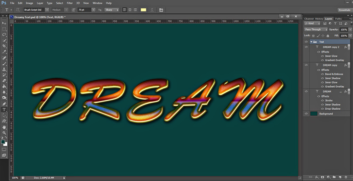 how-to-create-beautiful-dreamy-text-in-photoshop