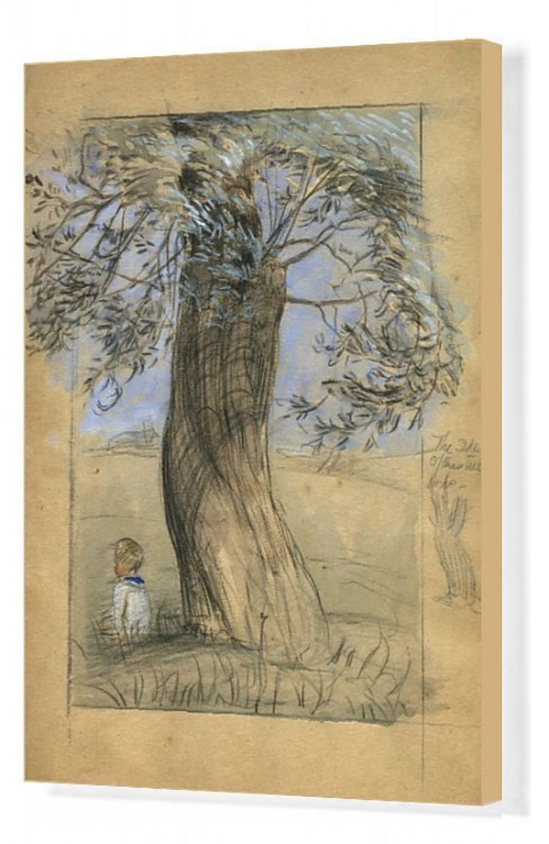 Canvas Print by Muriel Dawson