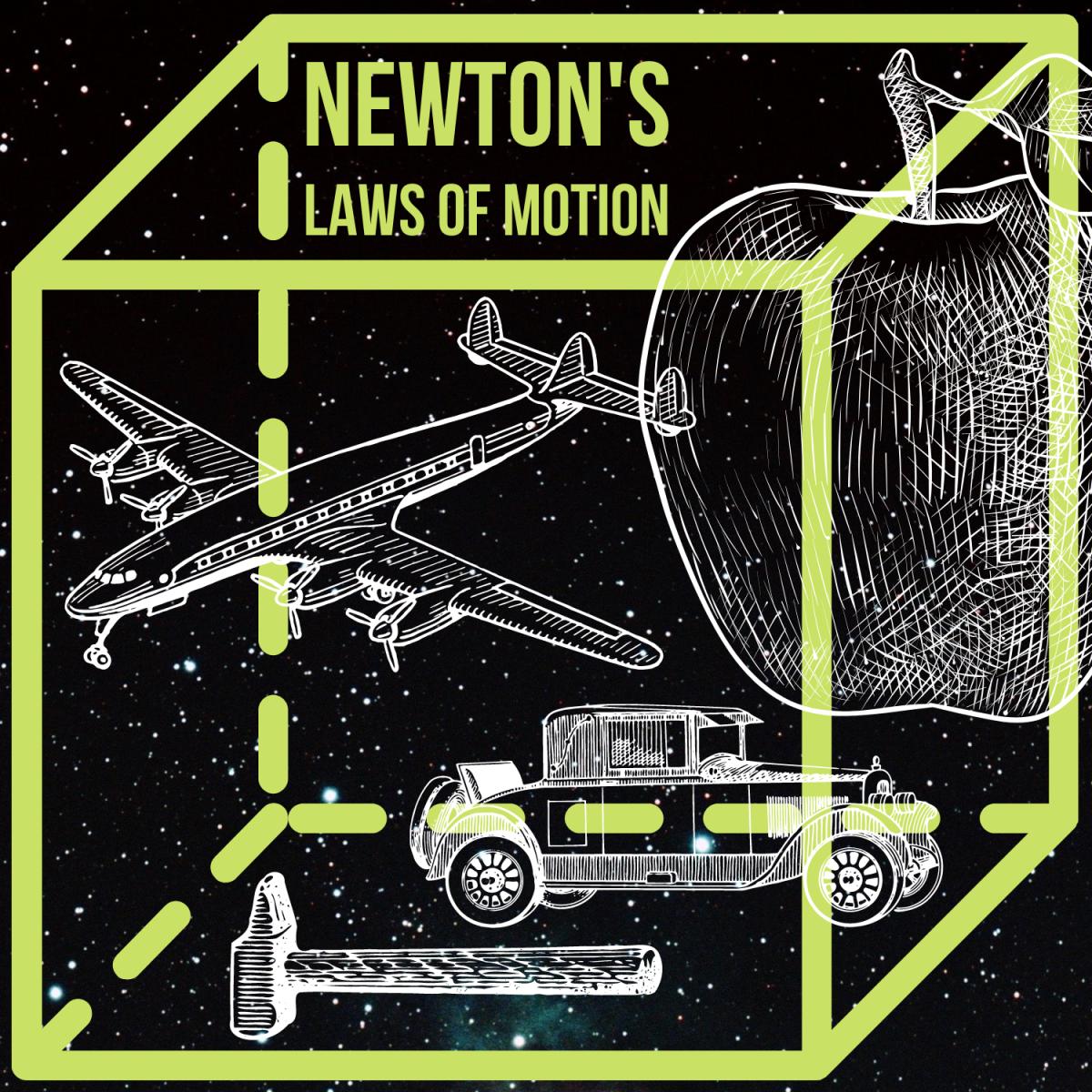 Explore Newton's 3 Laws of Motion