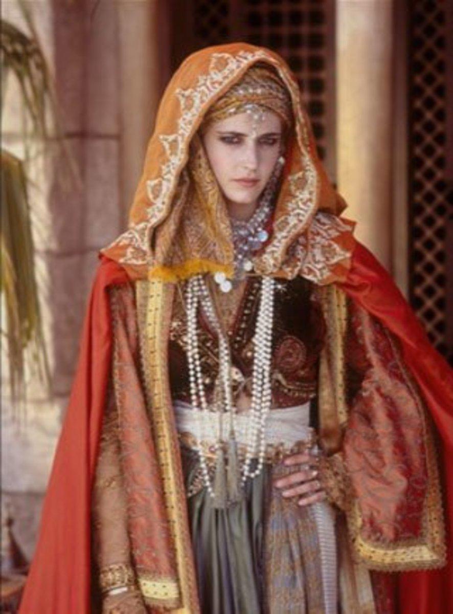 Eva Green as Sibylla from  Kingdom of Heaven