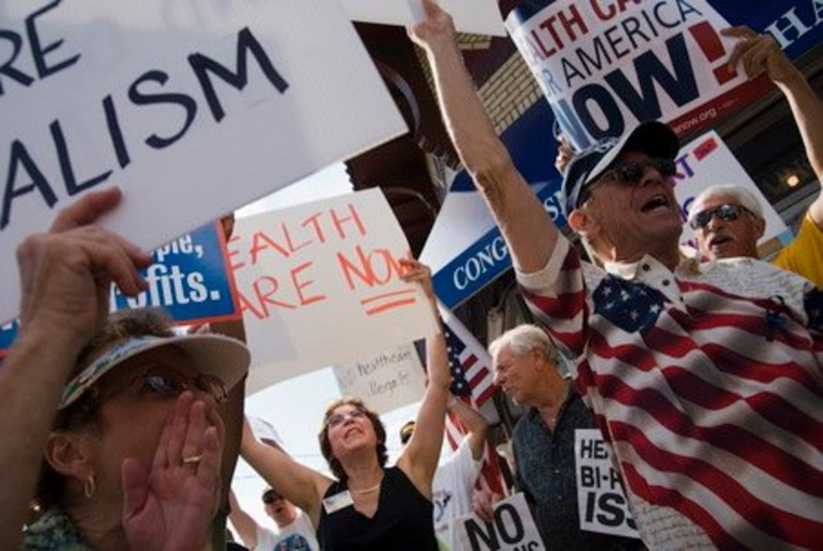 Supporters of Obama's New Health Care Proposal