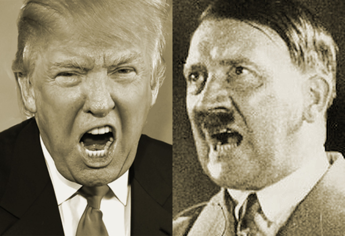 Drumpf(Trump) Equals The Third Recih(Hitler)