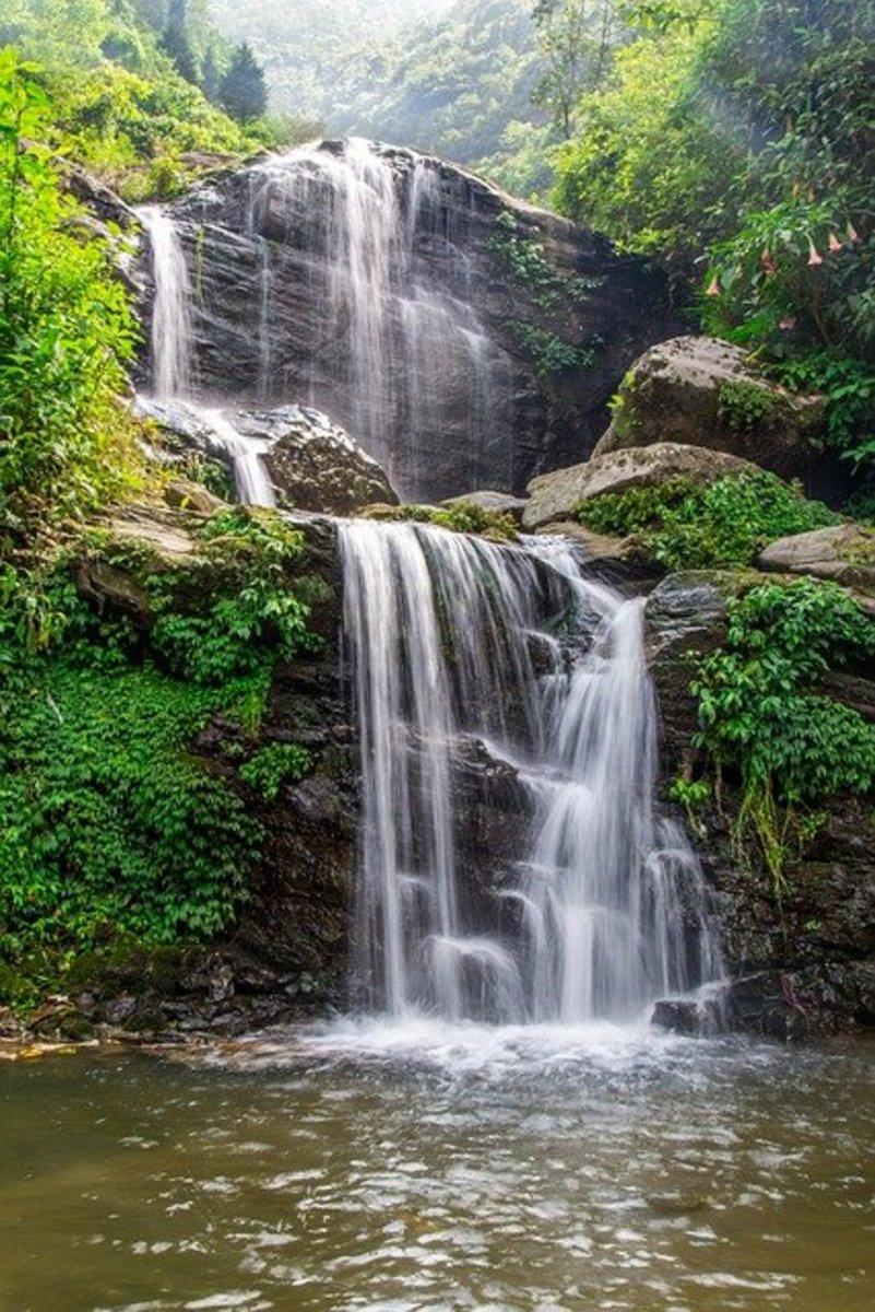 Waterfall Darjeeling