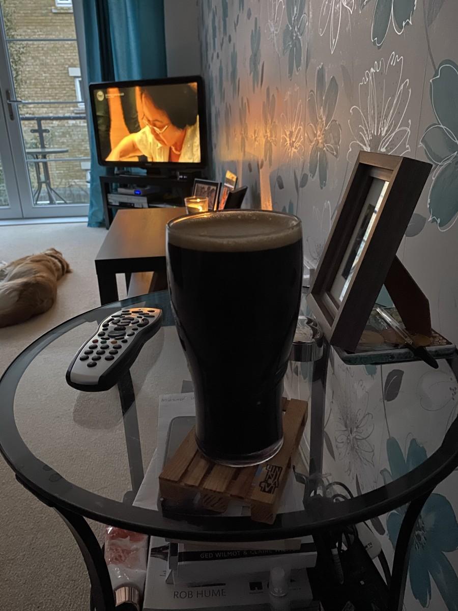 My first attempt. Muntons Dark Ale.