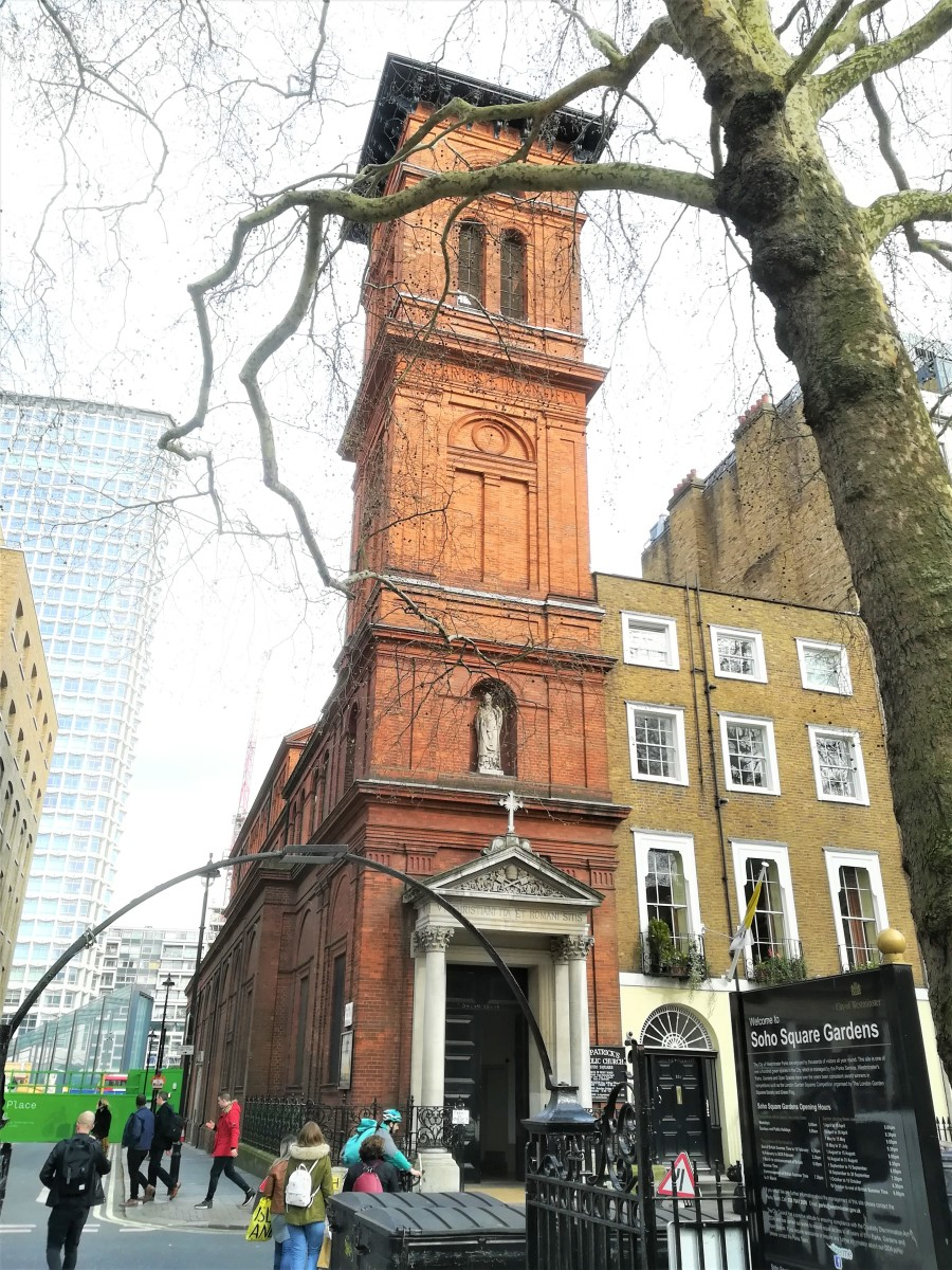 St. Patrick's Church, Soho Square, London