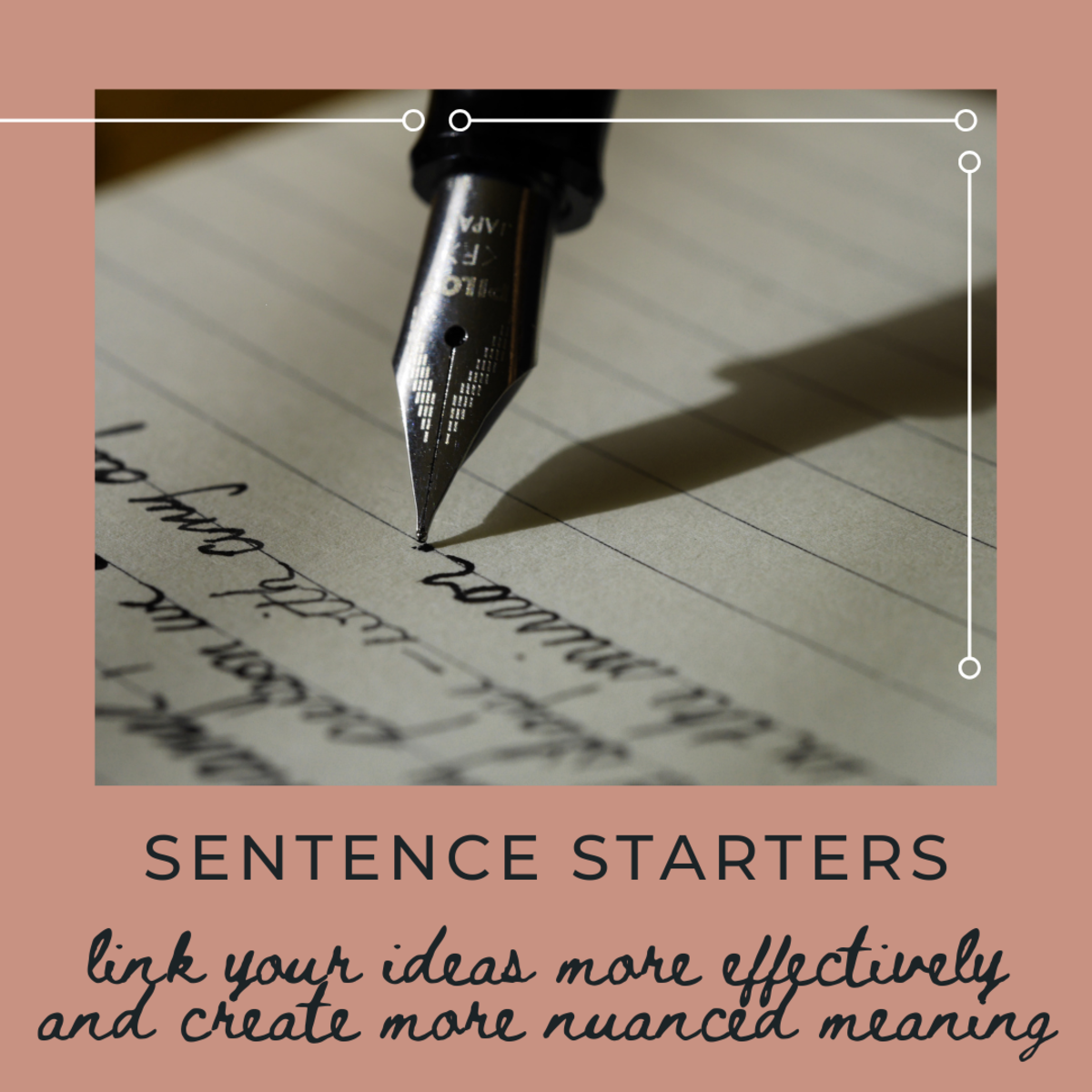 You've heard of sentence starters, but how do you use them? Read on to learn how!
