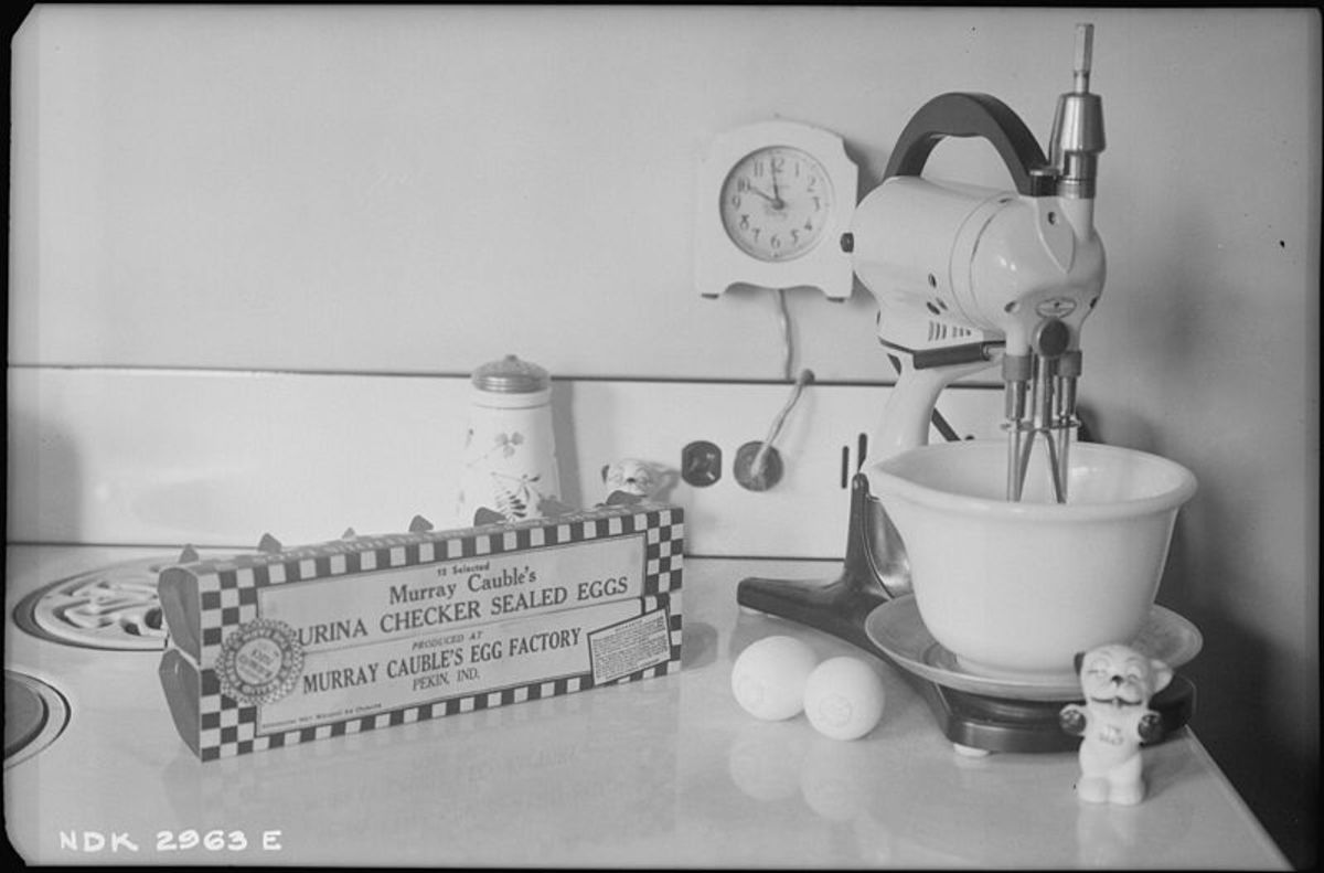 Kitchen Appliances: The Manual Egg Beater, a Museum Piece
