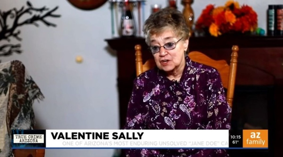 Patty Wilkins is the last person to see Valentine Sally alive. Photo courtesy of KPHO News 5.