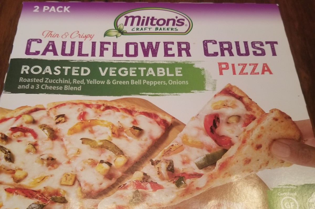 Review of Milton's Bakers Cauliflower Pizza