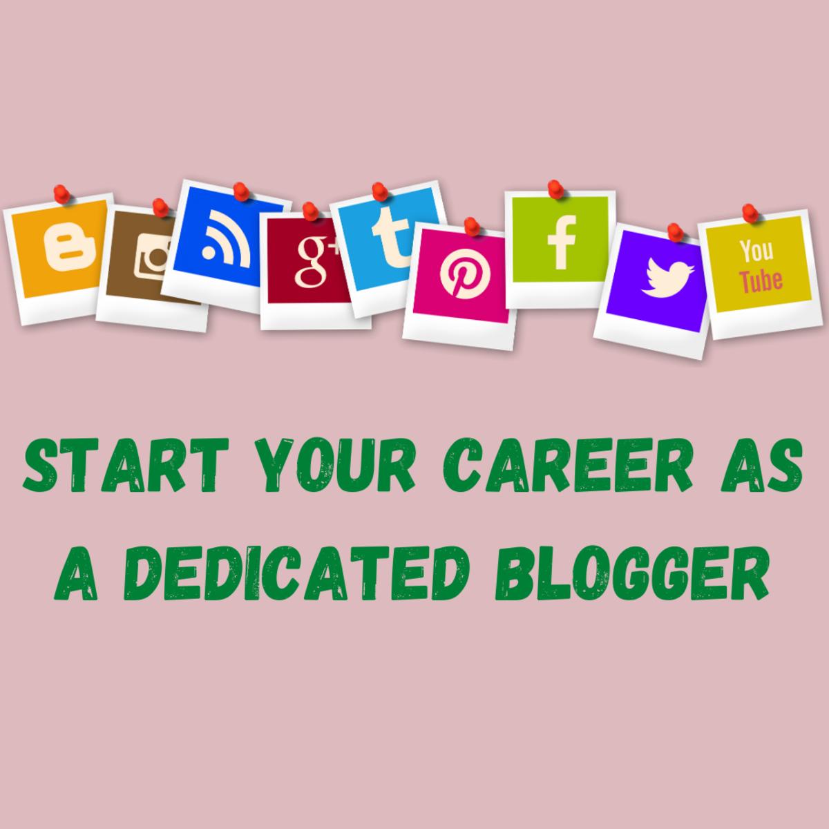Dedicated Blogger