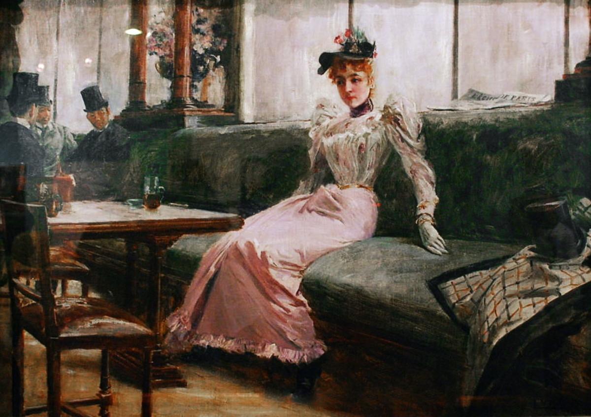 The woman in Parisian Life resembles the one in Mi Novia.