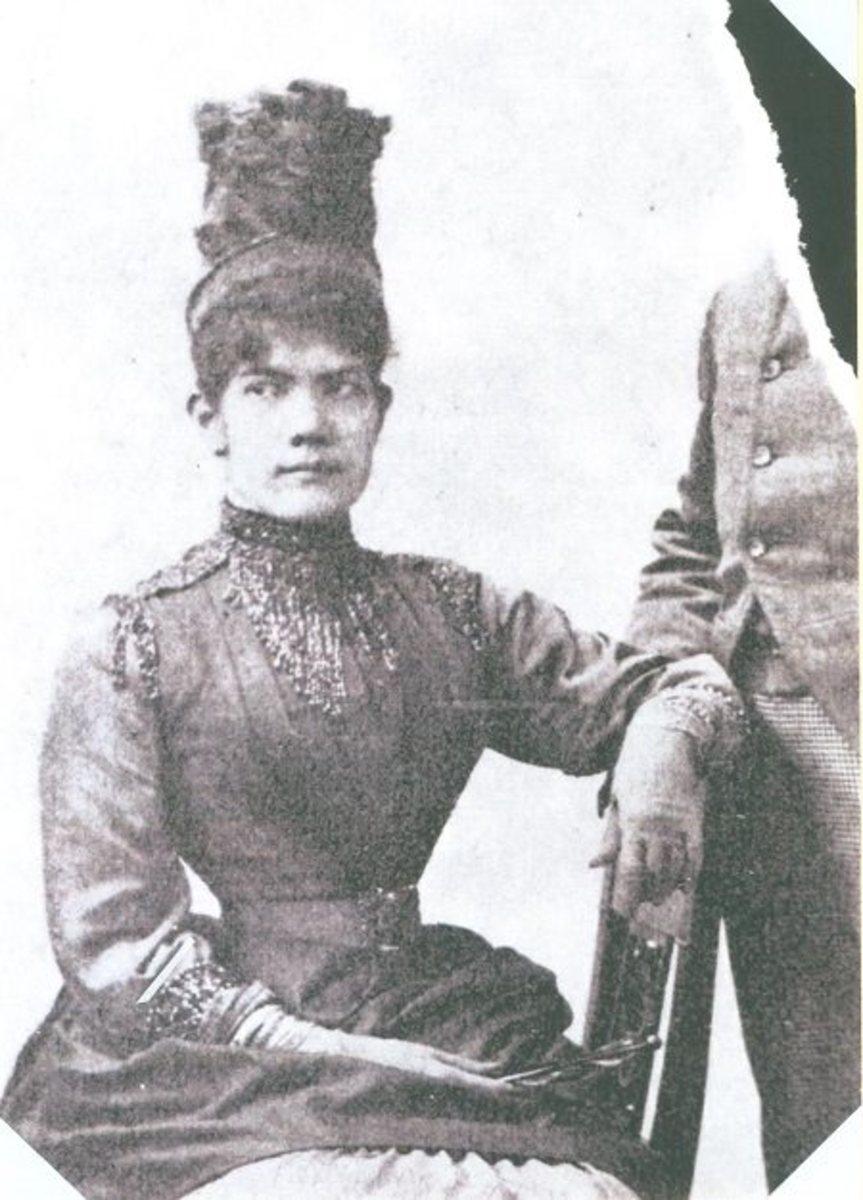 Maria de la Paz Pardo de Tavera, Luna's wife.