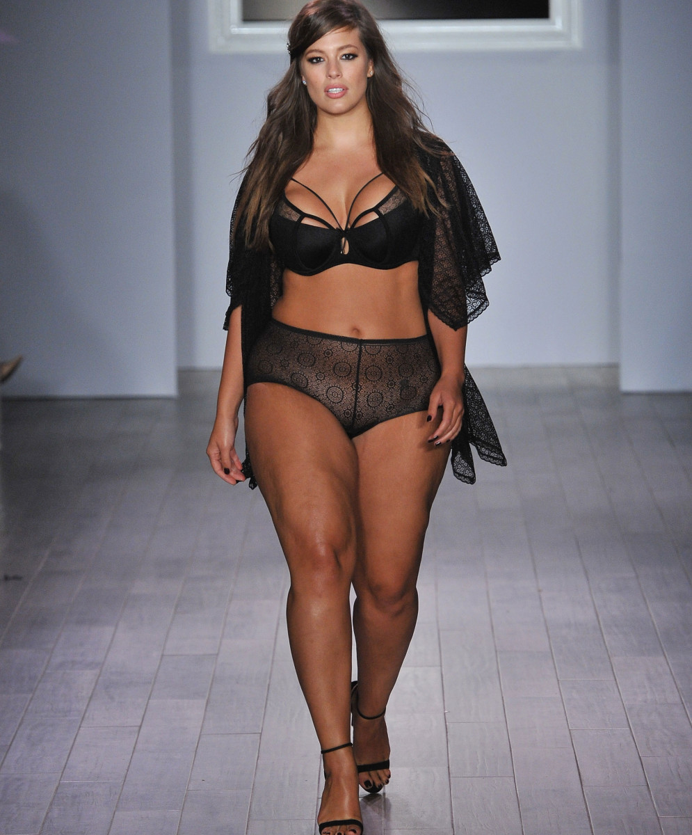 Asheley Graham has become one of the most successful and recognized models by proudly showing her natural body on runways across the world.  She is very vocal and unapologetic about body acceptance.