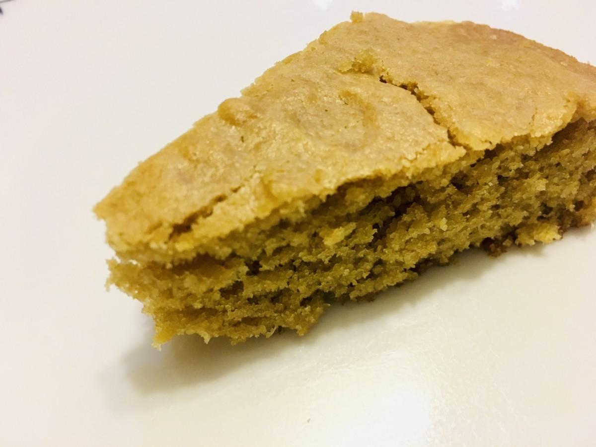 The soft and spongy orange cake