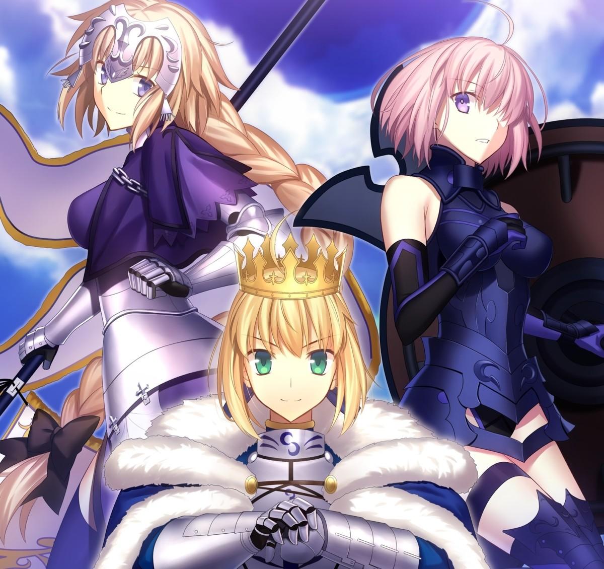 Servants in Fate Grand Order