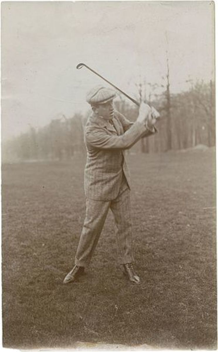 The golfing Eben Byers.