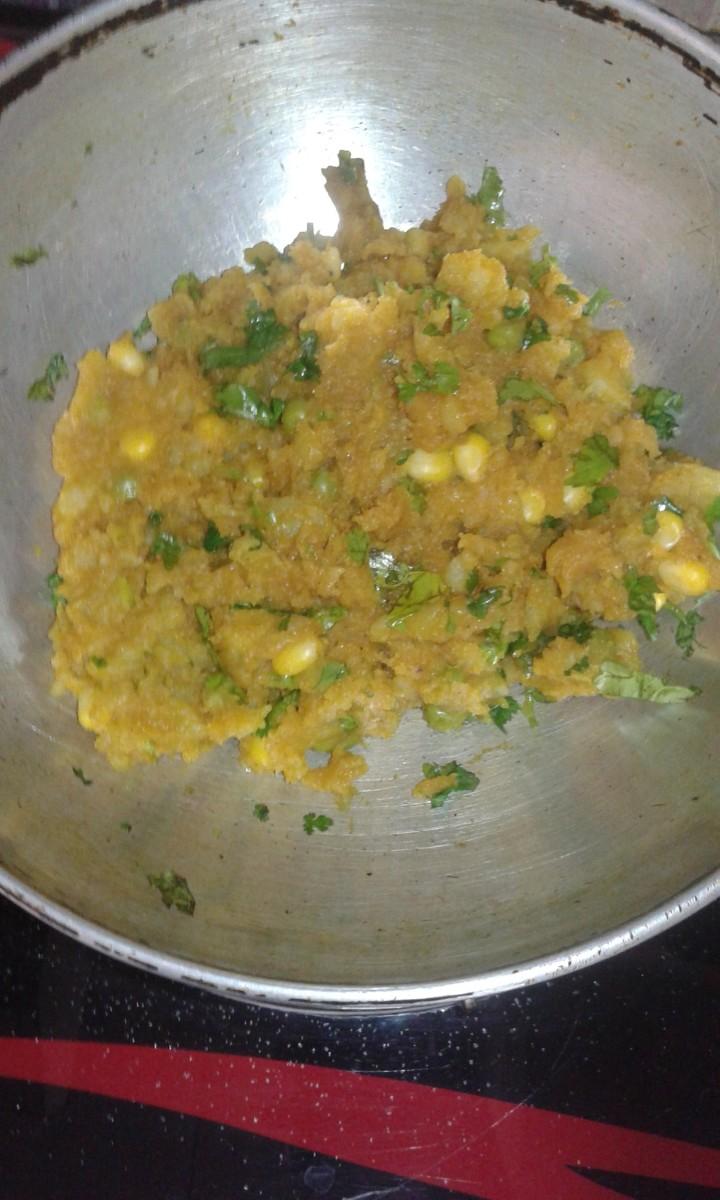 tasty veg stuffing