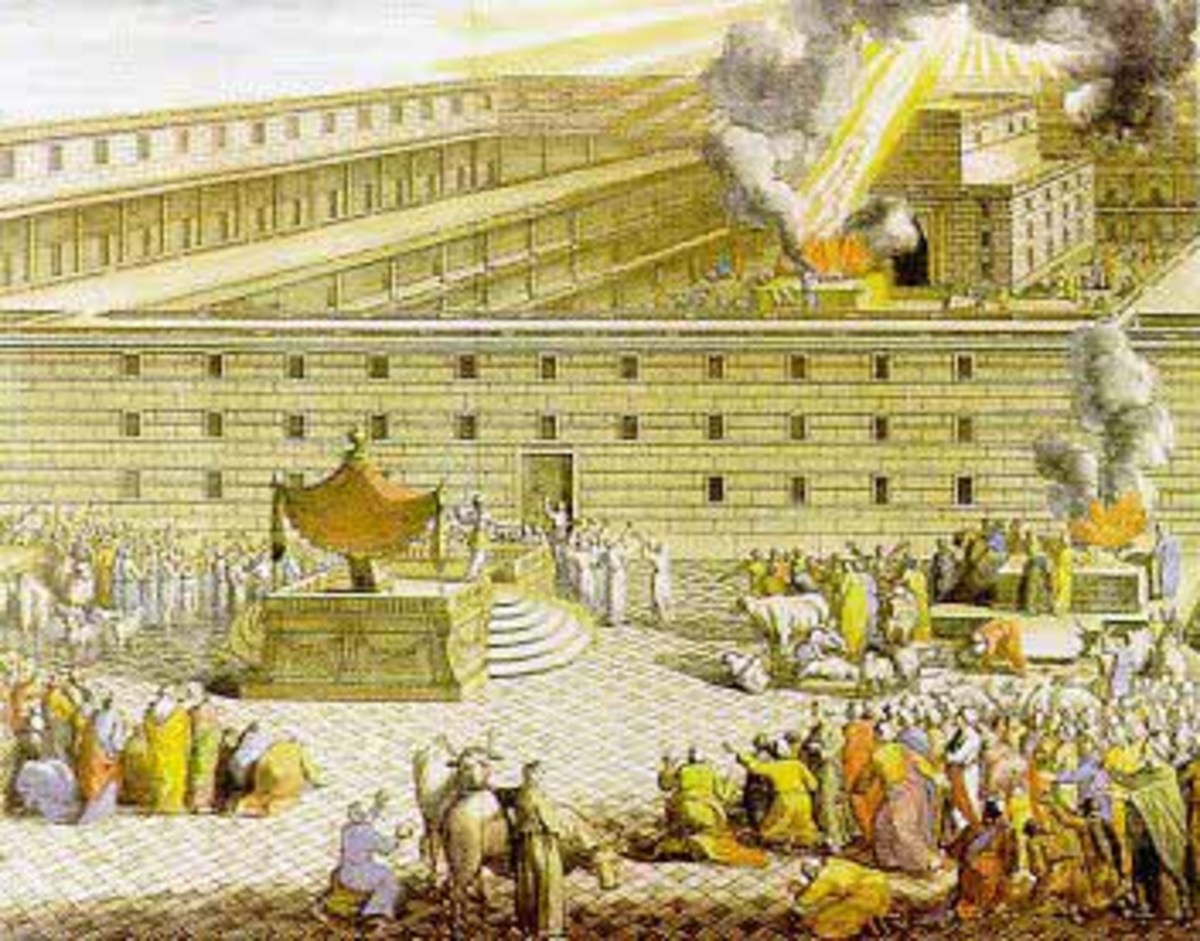Dedication Of Solomon's Temple