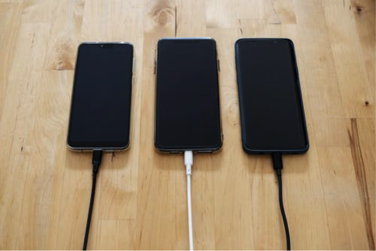 Typical Cell Phone Charging Method