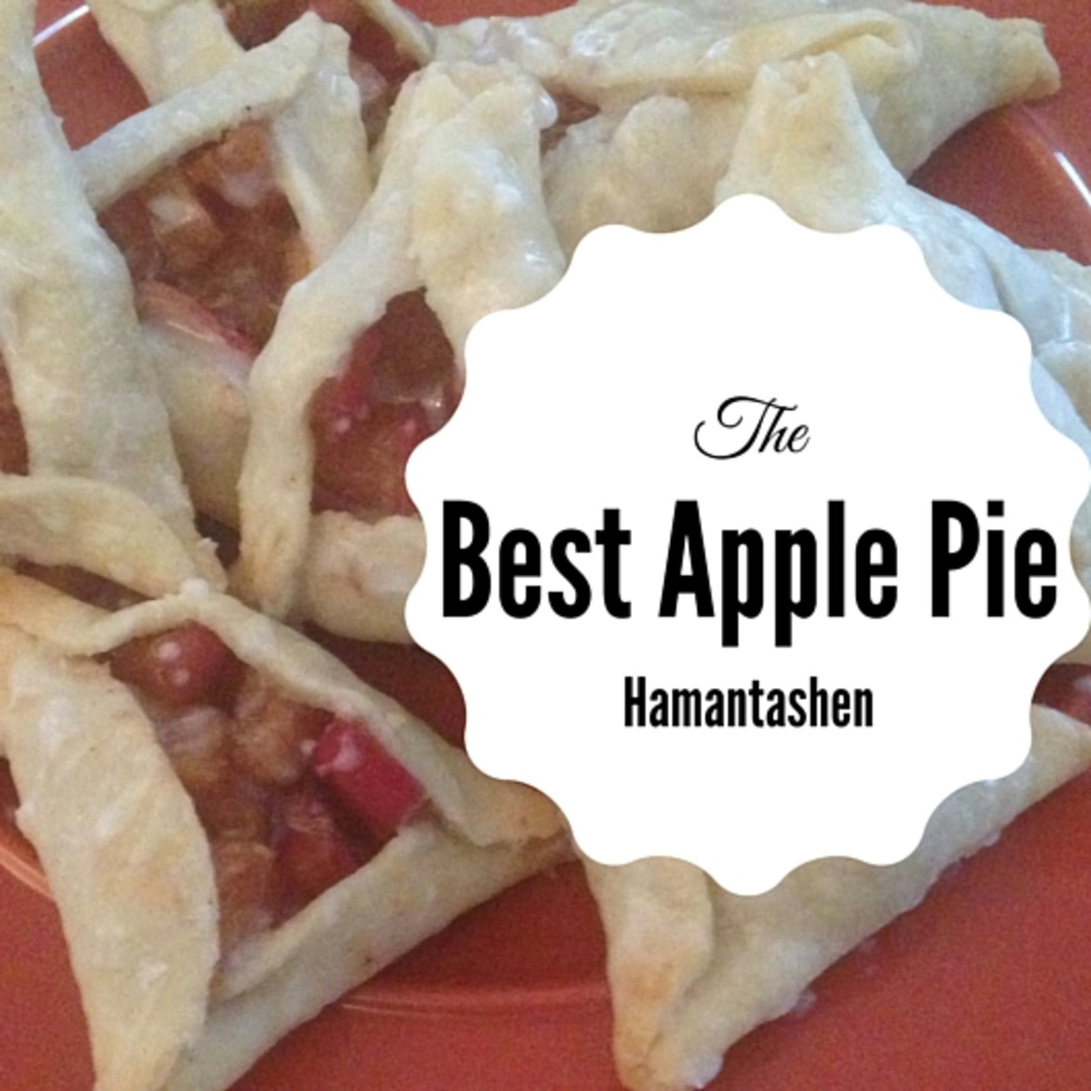 Apple Pie Hamantashen