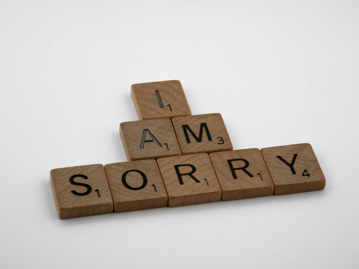 "Saying ""I'm sorry that you were hurt by what I did"" is not a proper apology."