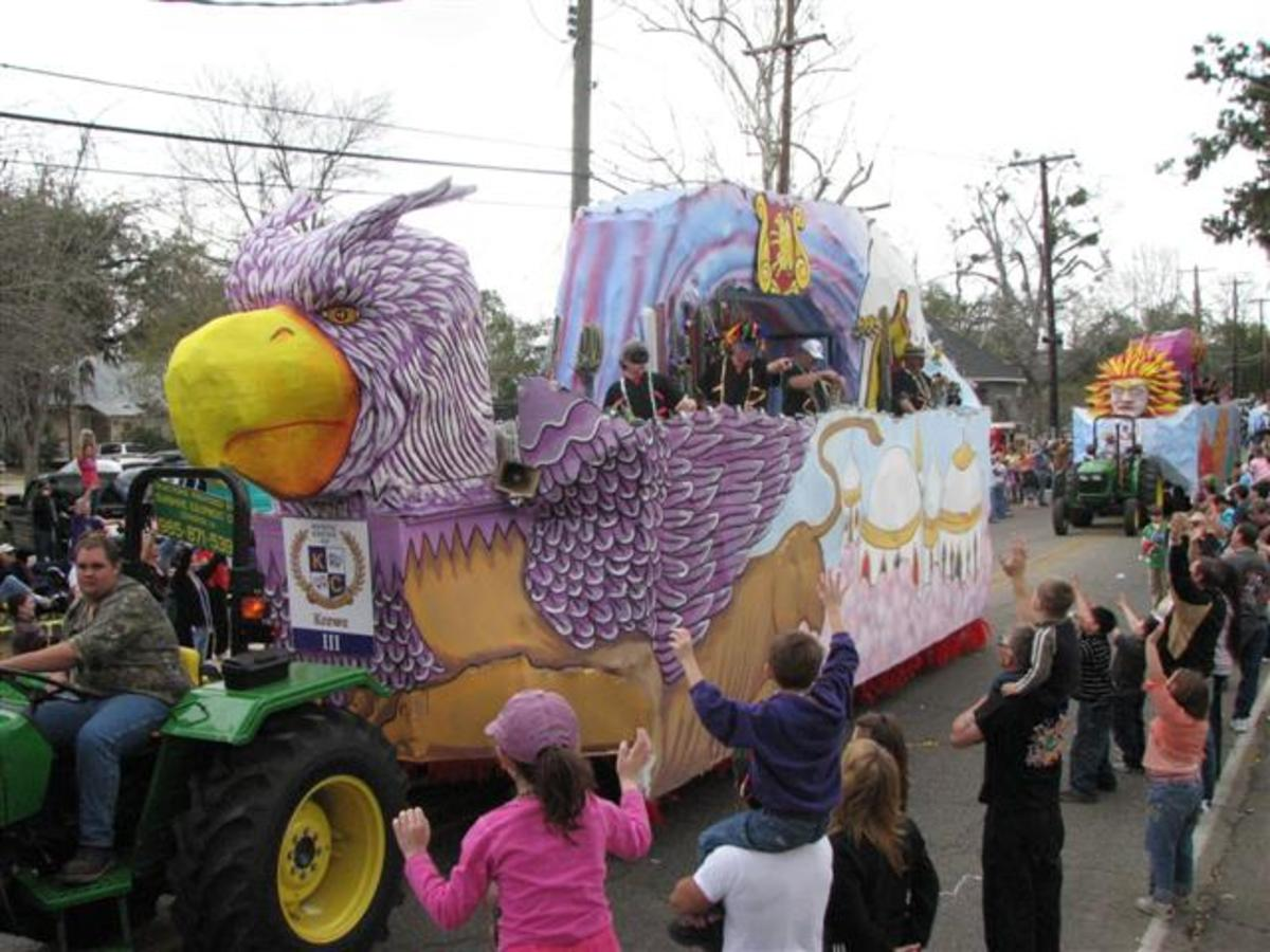 "Storybook Float, ""Throw Me Something, Mister!"""
