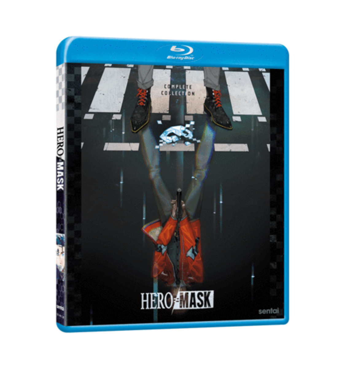 """Official """"Hero Mask"""" Blu-Ray cover art from Sentai Filmworks."""