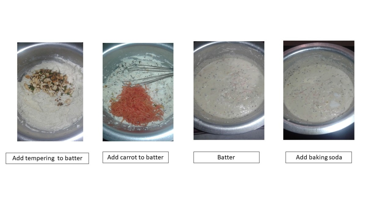 preparing instant idli batter