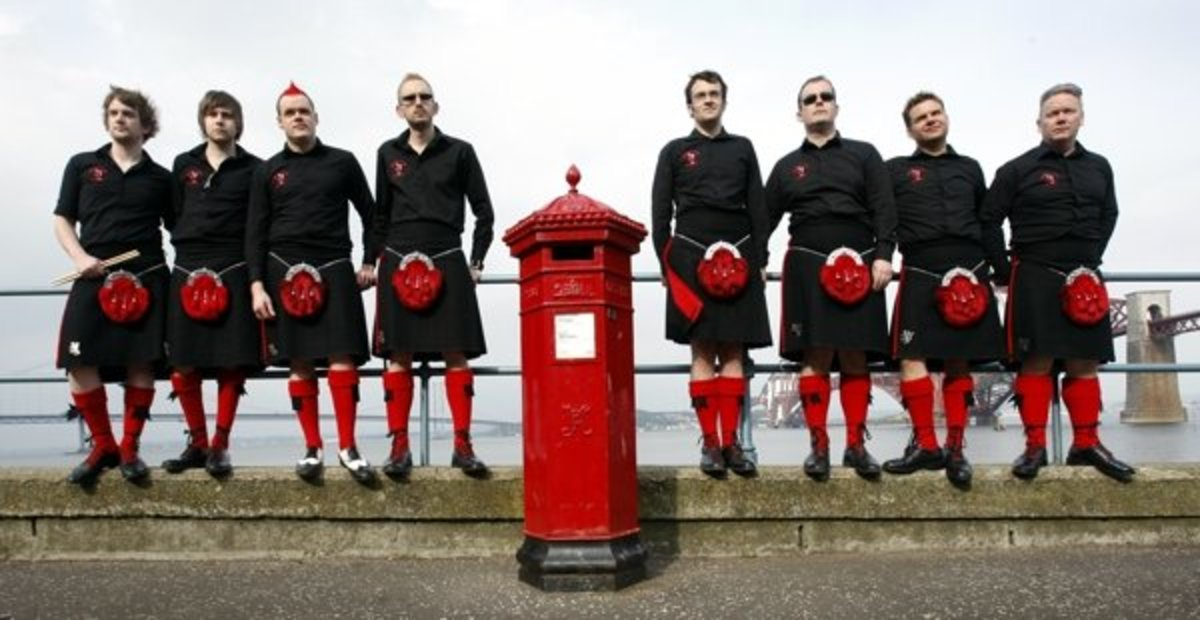 Red Hot Chilli Pipers -  Scottish Bagrock (Bagpipe Rock) Music Band