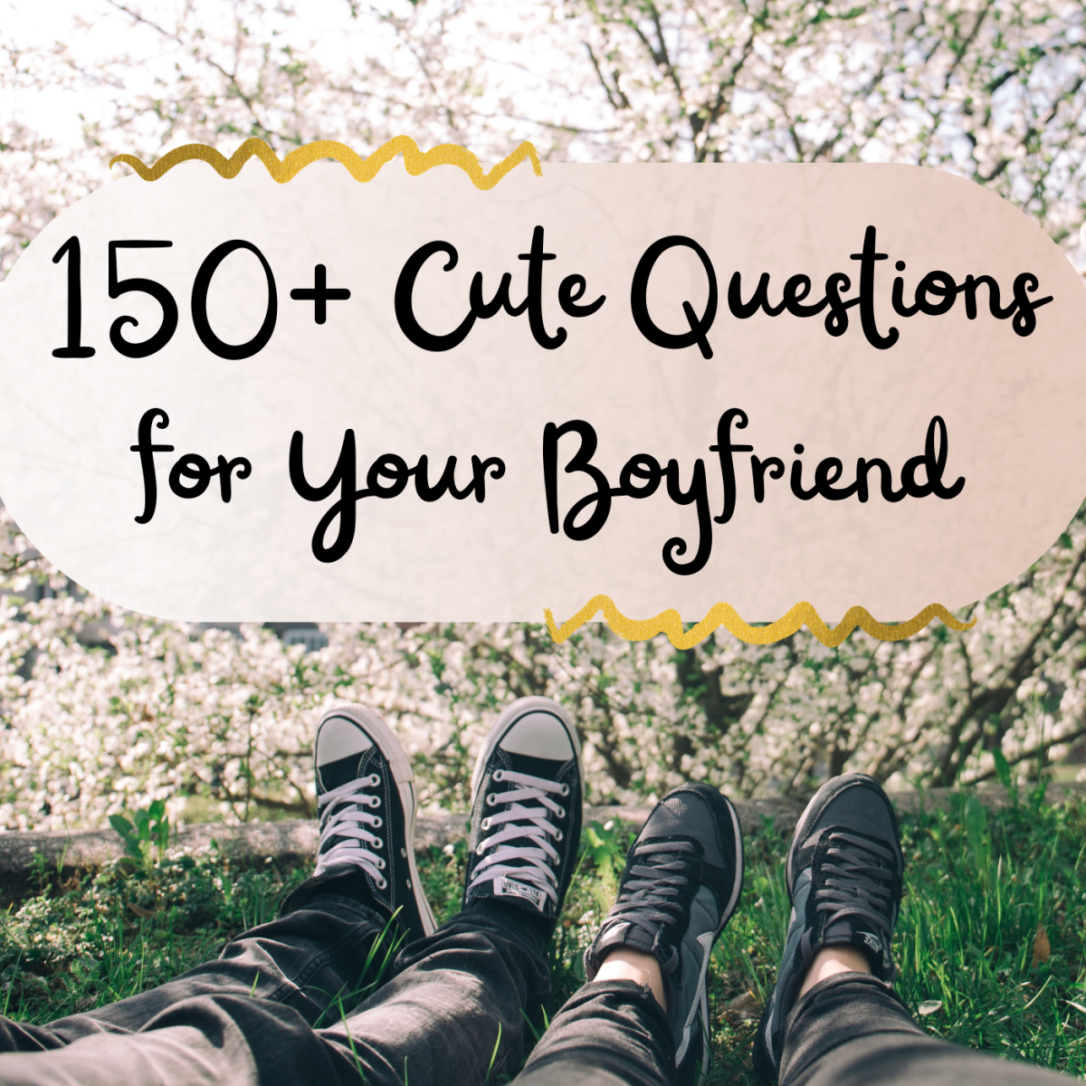 Want to spark a deep conversation with your guy or just enjoy some cute Q&A? These questions can help the two of you grow closer!