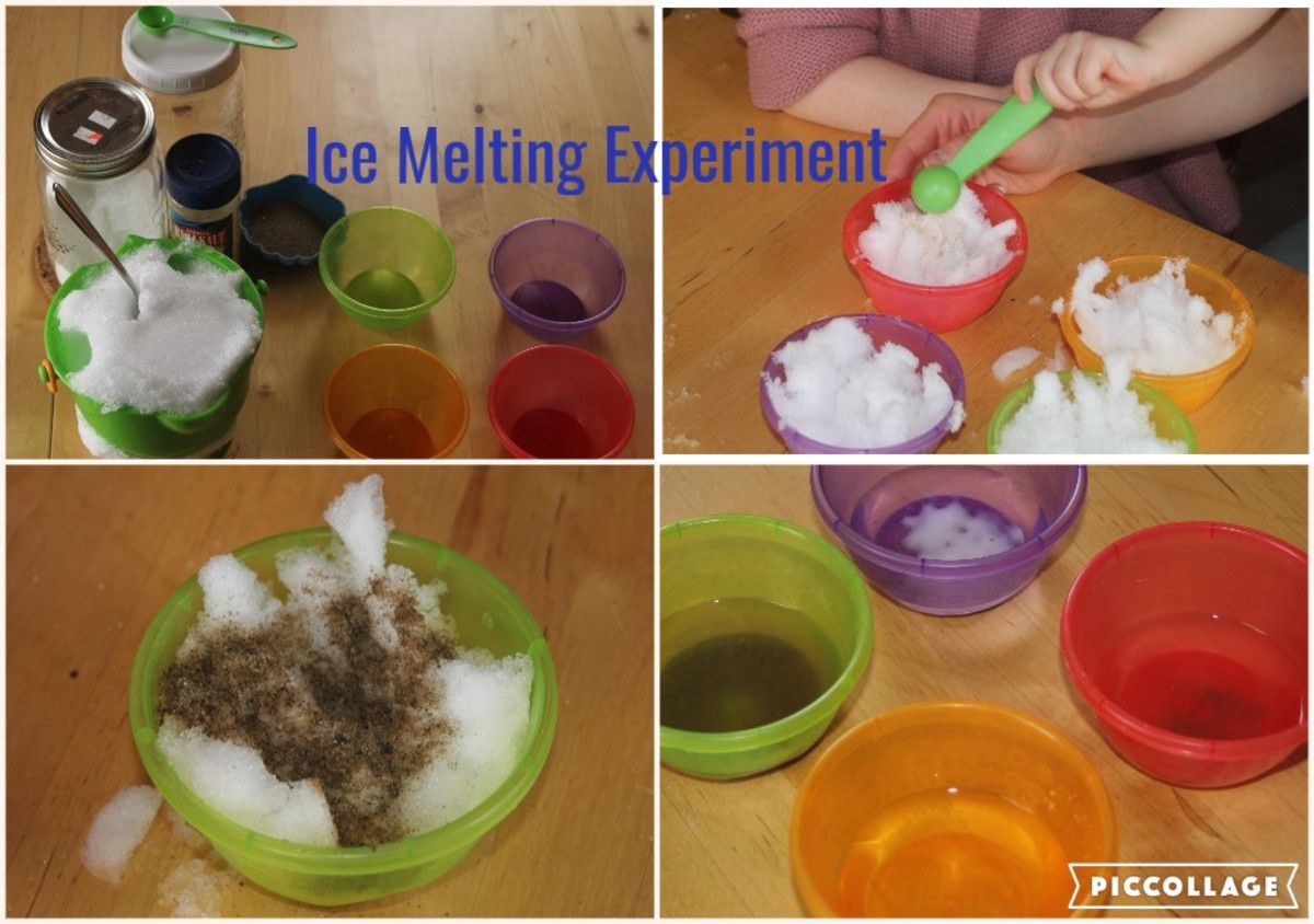 A fun ice melting experiment.