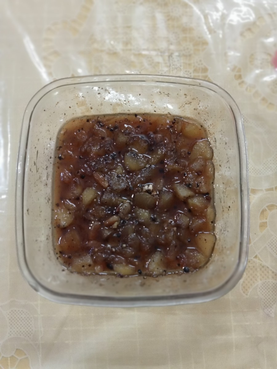 Quick Apple Chutney - Indian Style