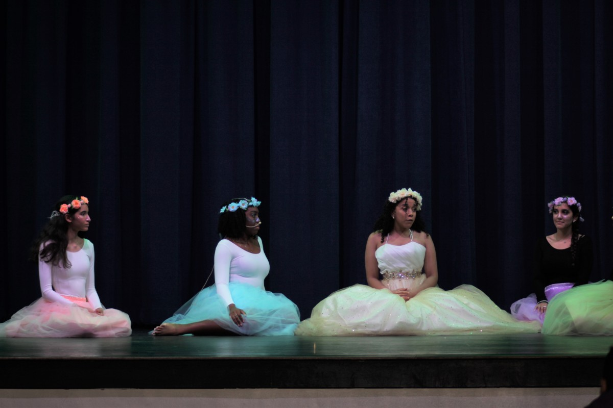 Theater production of Midsummer's Night Dream. All images copyright of Franklin Academy