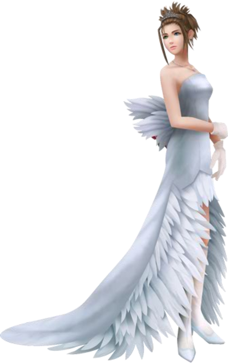 Yuna's Wedding Gown Final Fantasy X