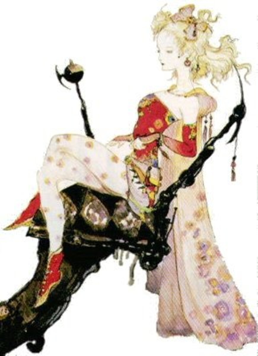 Terra from Final Fantasy VI