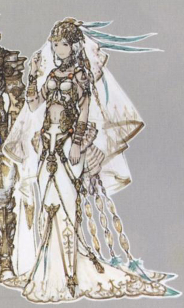 Ashe's Wedding Gown from Final Fantasy XII