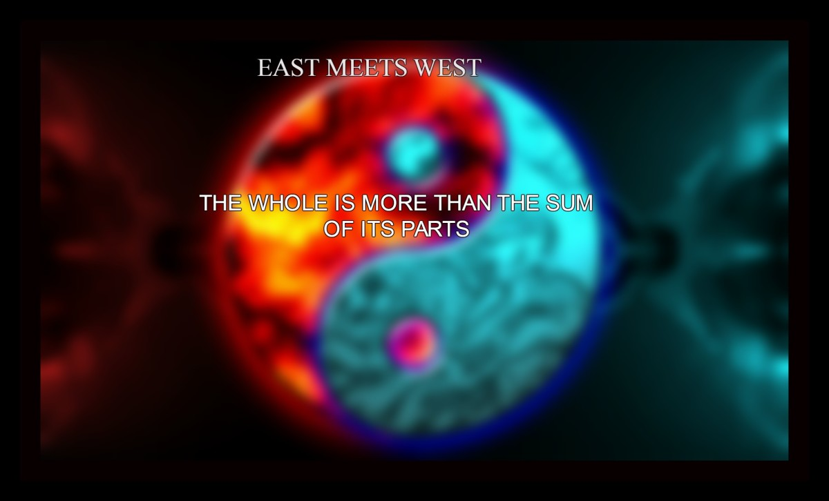 East and West are complementary opposites .