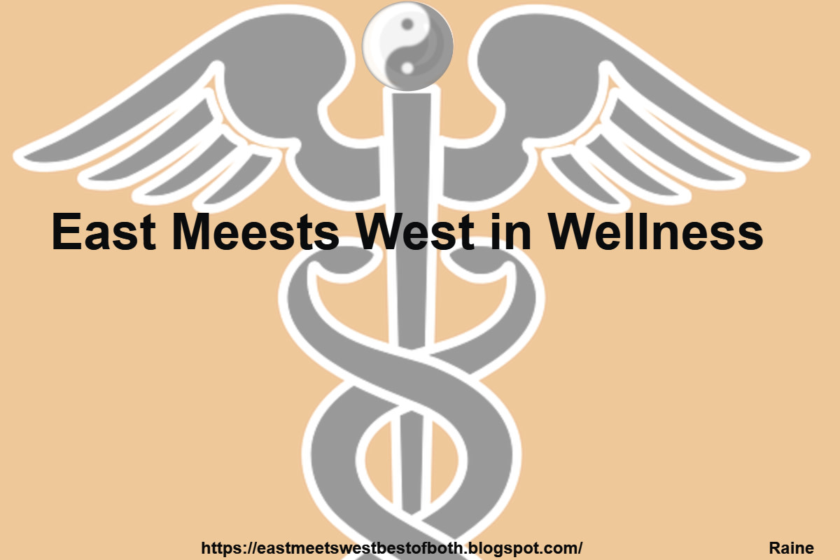 East and West intersect in wellness. Modern approach to health and wellness acknowledges the interconnections of mind, body and soul. Integrative medicine with a scientific focus leads to optimal health.