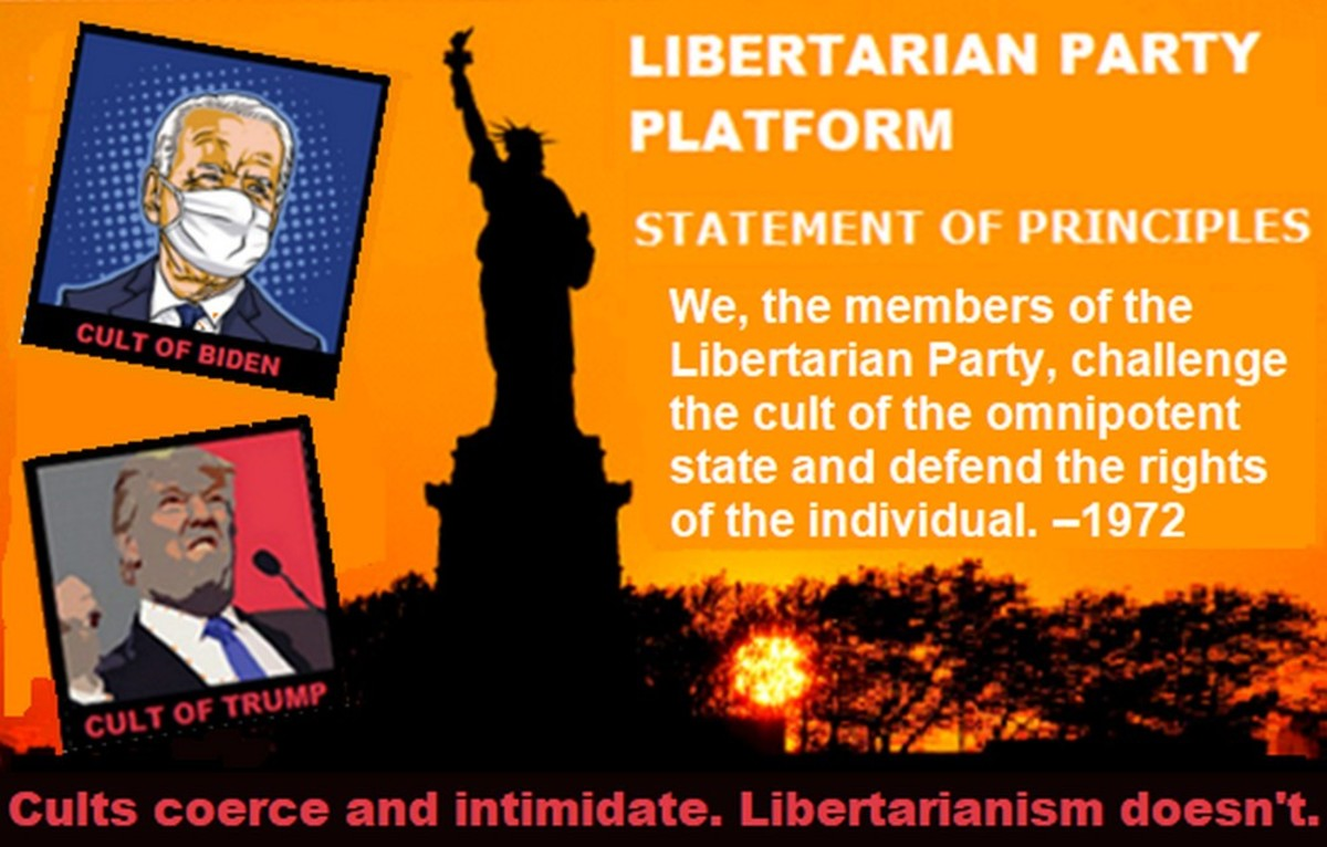 Forget the Trump Cult—Libertarians Reject the Statist Cult!