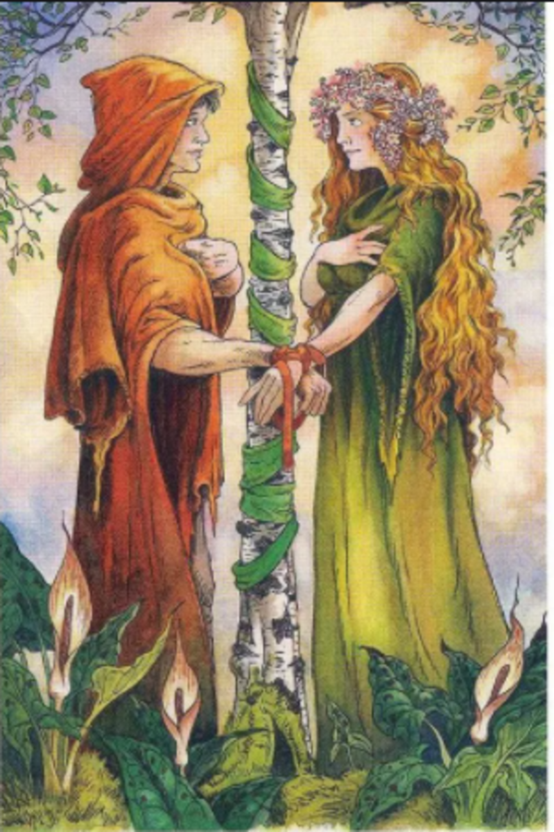 The Lovers card is about two Fools coming together and sharing their journey. They are like two protagonists with similar goals. They have a divine connection, and it can't be ignored.