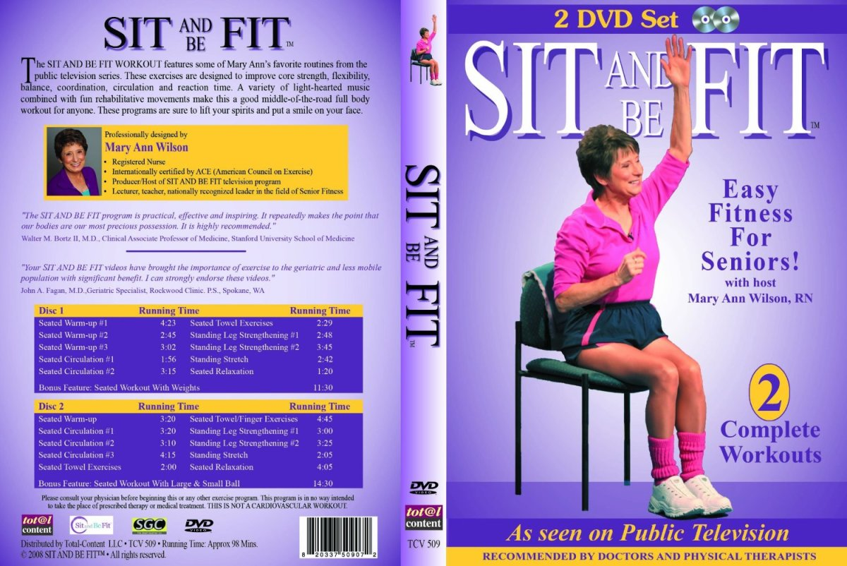 Sit and Be Fit. Start Today. You Can Do it! It is one of the Best Gifts that You Can Give Yourself.