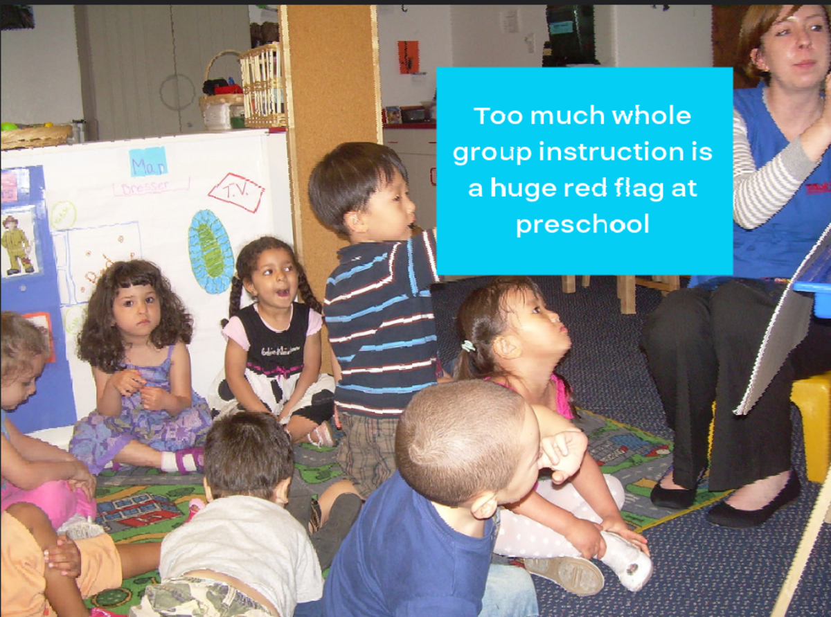 5 Red Flags at a Child's Preschool That Should Concern Parents