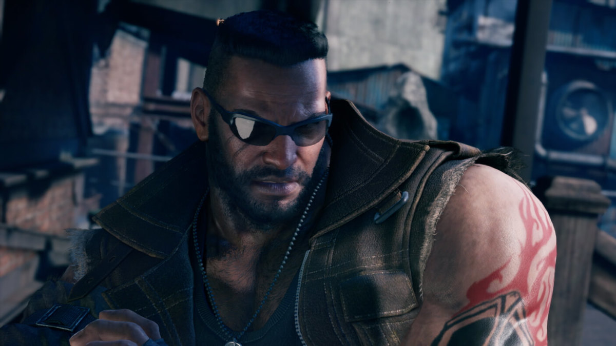 "Barret Wallace was the leader of the environmentalist group Avalanche, who hired Cloud at the beginning of ""Final Fantasy VII"" and its remake."
