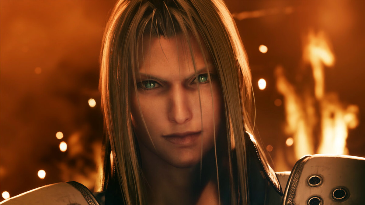"Sephiroth appeared throughout ""Final Fantasy VII Remake"" to torment Cloud with troubling visions and ominous warnings."