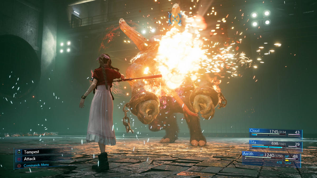 "The revamped Active Time Battle system in ""Final Fantasy VII Remake"" adapted the original's mechanics to modern action-RPG gameplay."